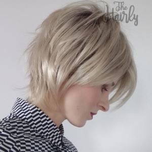 Peruka syntetyczna Sophie Silver Blond