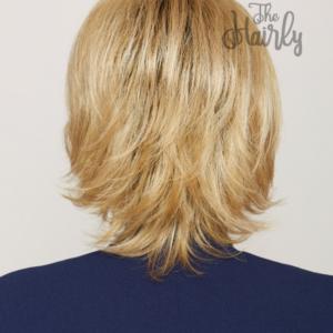 Peruka syntetyczna Rita Dark Root Blond