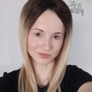 Sara Tupet damski clip in naturalny Blond Ombre 46cm - zagęszczenie włosów