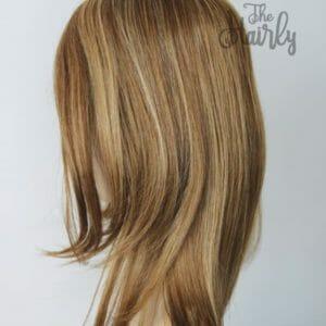 topper ciemny blond naturalny 40cm