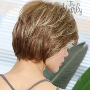 Peruka 50% włos naturalny, 50% włos syntetyczny, cieniowana balayage
