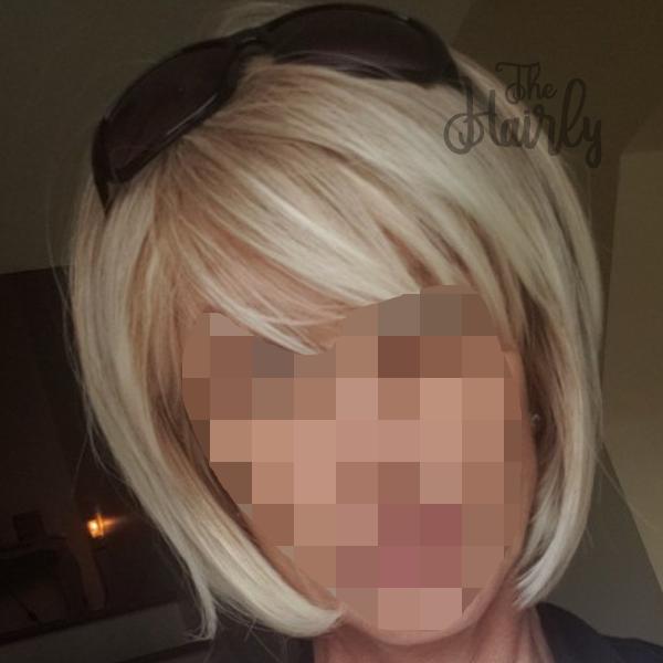 Klientka peruka