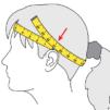 jak zmierzyć obwód głowy