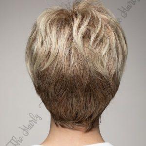 Peruka 50% włos naturalny, 50% włos syntetyczny, słowiański balayage