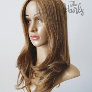 peruka naturalna blond