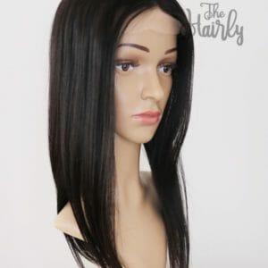topper ciemny czarny naturalny 50cm