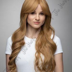 Peruka syntetyczna słowiański blond fale nowa kolekcja