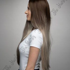 Peruka syntetyczna Blond Ombre Nowa kolekcja