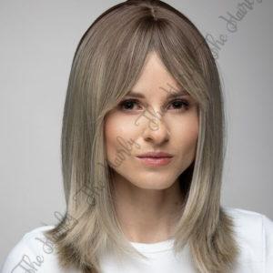 popiołowy blond peruka