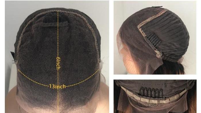 peruka front lace czepek wyjaścienie