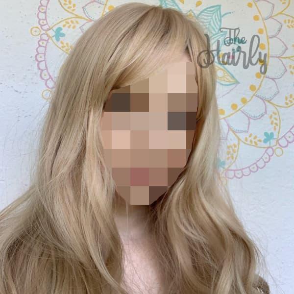 Tupet damski z włosów naturalnych