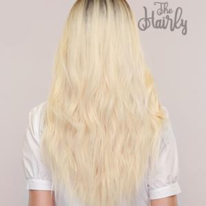 peruka syntetyczna blond platynowy