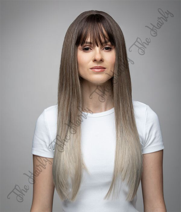 peruka syntetyczna ombre blond