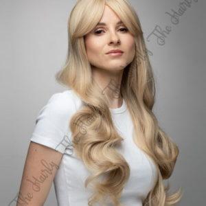 blond peruka syntetyczna dłuższa