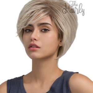peruka syntetyczna platynowy blond