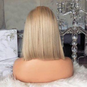 peruka naturalna front lace blond