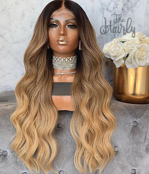 peruka naturalna front lace