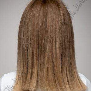 Peruka syntetyczna kleopatra jasny brąz ombre blond