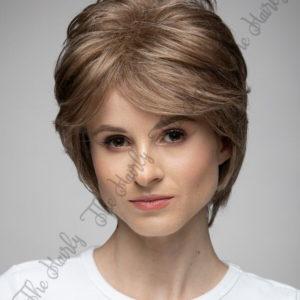 peruka ciepły ciemny blond