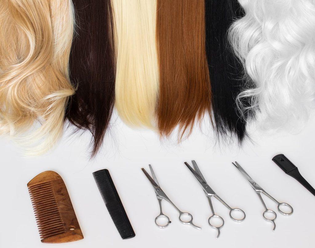 rodzaje włosów w perukach