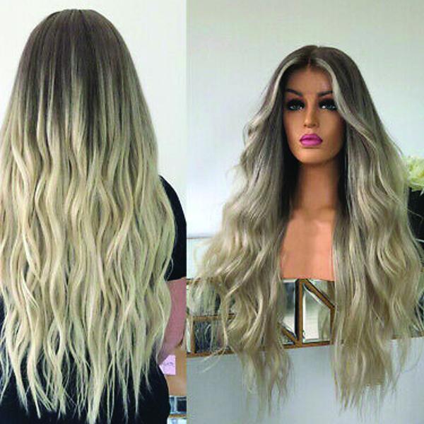 Peruka front lace wig