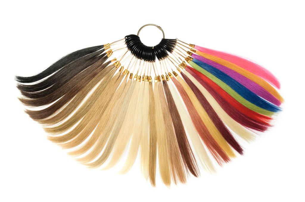 Przykładowa paleta kolorów front lace