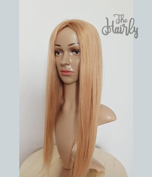 tupet naturalny blond