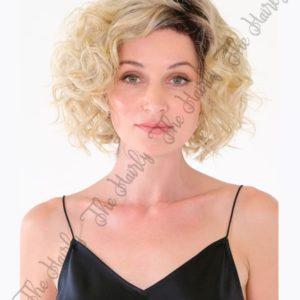 peruka syntetyczna afro blond_WM