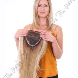 tupet syntetyczny blond