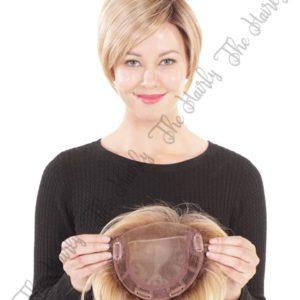 tupet syntetyczny blond krotki (2)
