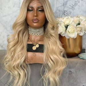 peruka blond balayage