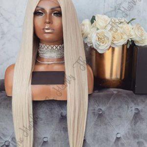 peruka blond platyna