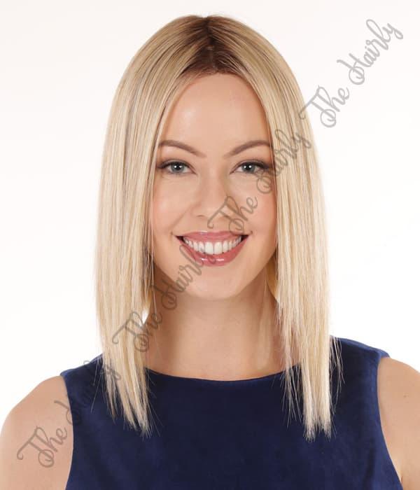 peruka syntetyczna blond bob