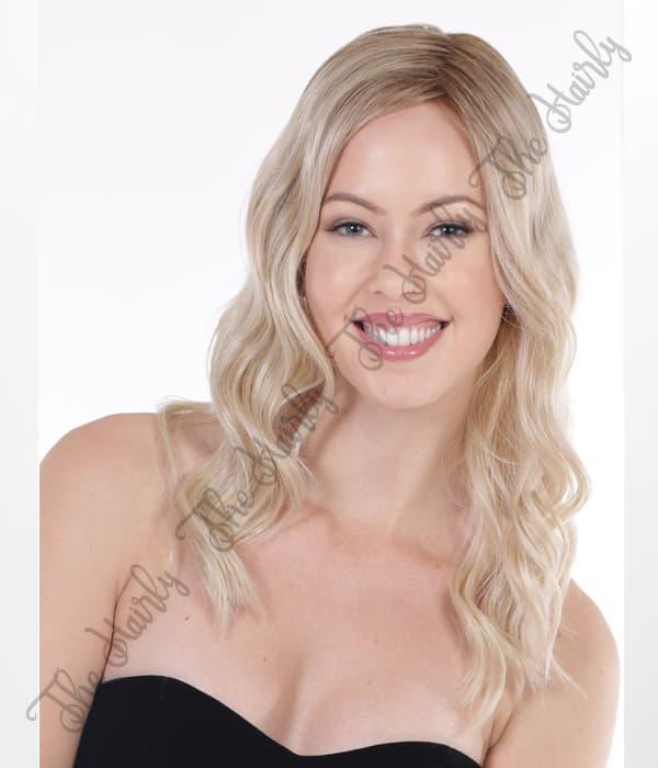 peruka syntetyczna dluga blond