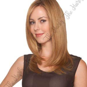 peruka syntetyczna blond ombre