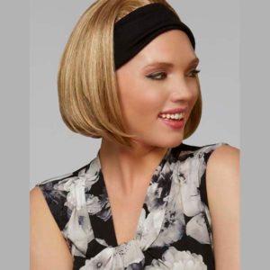 Opaska z włosami syntetycznymi | Półperuka