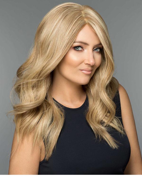 peruka mono top blond