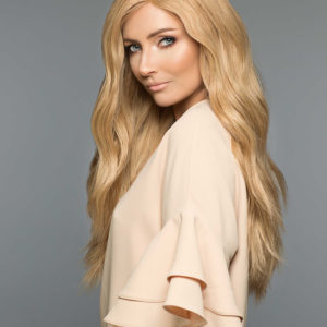 peruka mono top blond