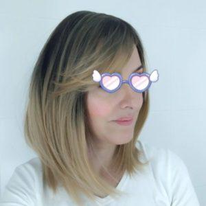 Peruka syntetyczna Ciepły blond z pasemkami i naturalnym odrostem photo review